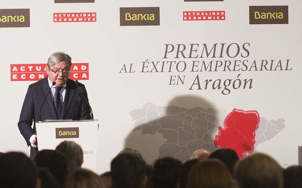 Miguel Ángel Belloso, director de Actualidad Económica, durante su...
