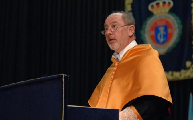 Rodrigo Rato, doctor 'honoris causa' de la Universidad Rey...