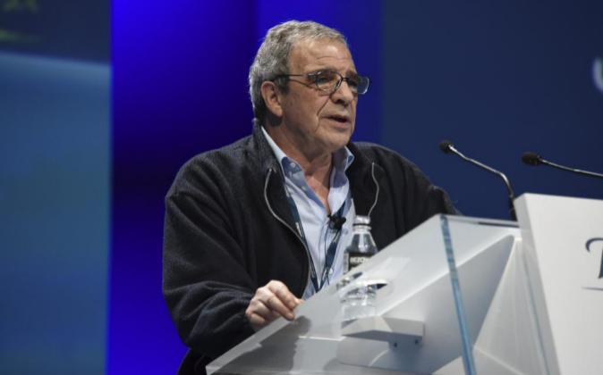 César Alierta, presidente de Telefónica y del Consejo Empresarial de...
