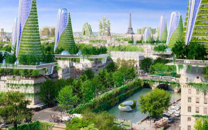 Proyecto del arquitecto belga Vincent Callebaut para la ciudad de...