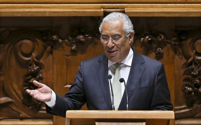 El primer ministro de Portugal el socialista António Costa.