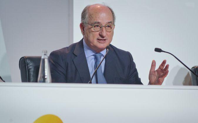 El presidente de Repsol, Antonio Brufau
