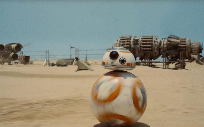 BB-8, el droide esférico de la última entrega de 'Star...