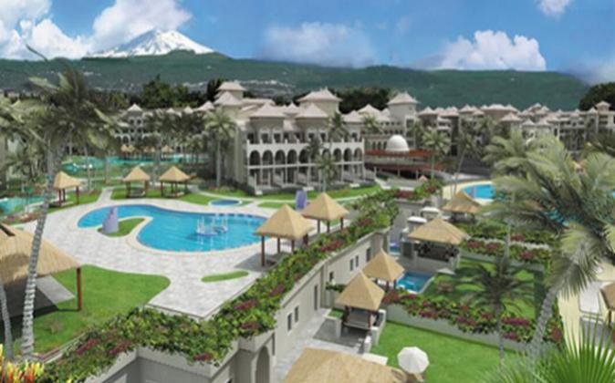 El Hotel Gran Meliá Palacio de Isora, en Tenerife.