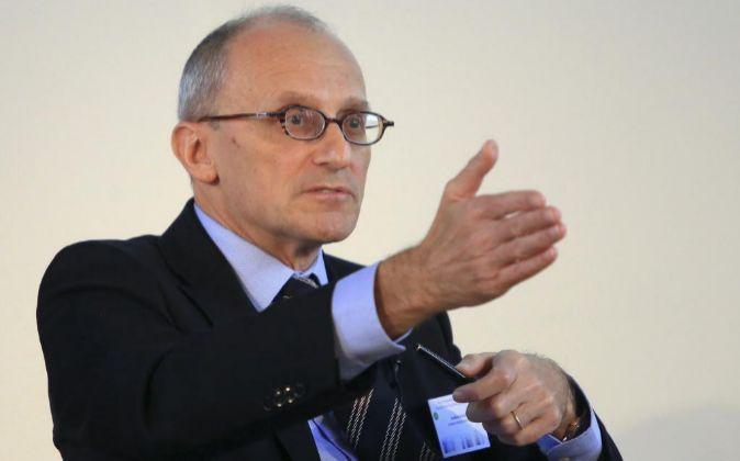 Andrea Enria, presidente de la Autoridad Bancaria Europea (EBA).