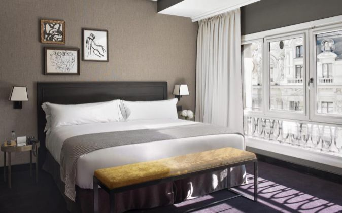 La plataforma ofrece ya 27 hoteles en Madrid para alquilar...