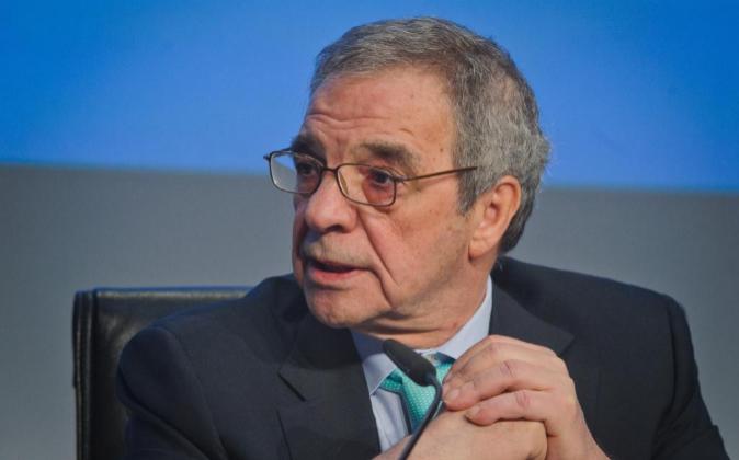 César Alierta, presidente de Telefónica y del Consejo Empresarial...
