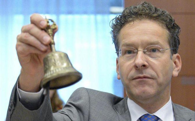 El presidente del Eurogrupo, el holandés Jeroen Dijsselbloem.