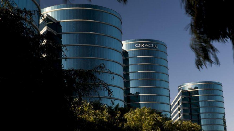 Imagen de la sede de Oracle en Redwood City (California, EEUU).