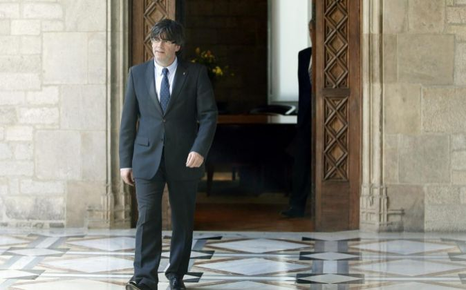 Carles Puigdemont, nuevo president de la Generalitat.
