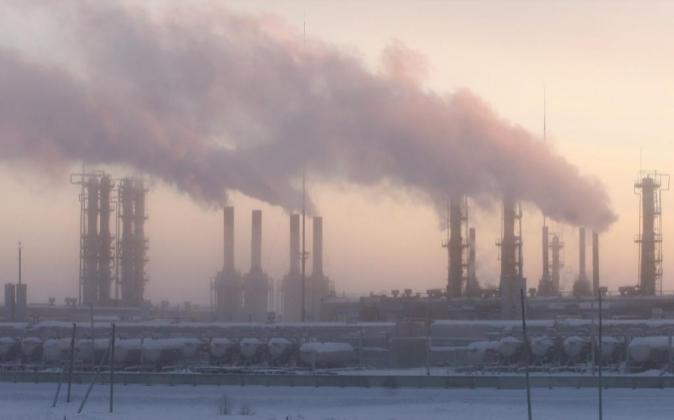 MOS05 CAMPO DE GAS YUZNO RUSSKOYE (RUSIA) 19/12/2007.- Imagen cedida...
