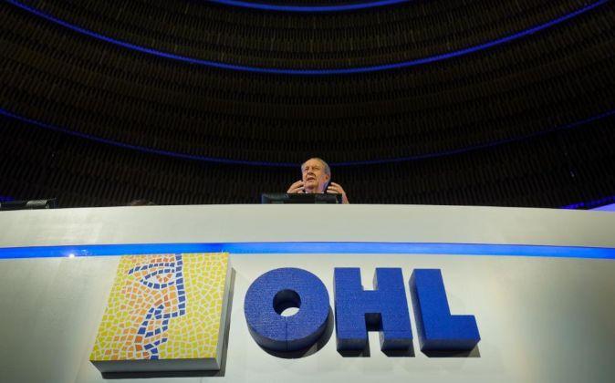 Villar Mir en la Junta de Accionistas de OHL.