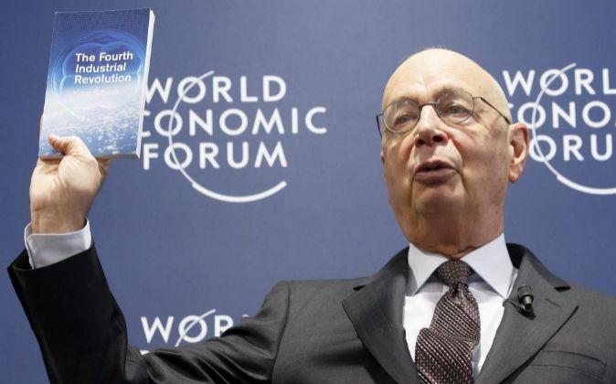 El fundador y presidente del Foro Económico Mundial (WEF por sus...