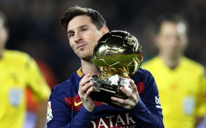 GRA283. BARCELONA, 17/01/2016.- El delantero del Barcelona Lionel...