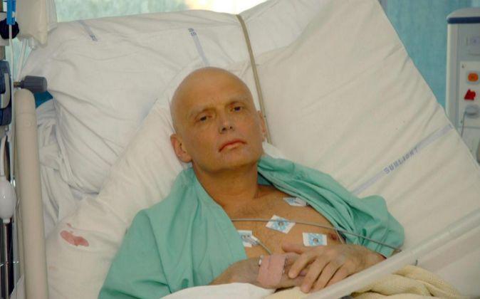 El excoronel de los servicios secretos rusos Alexander Litvinenko,...