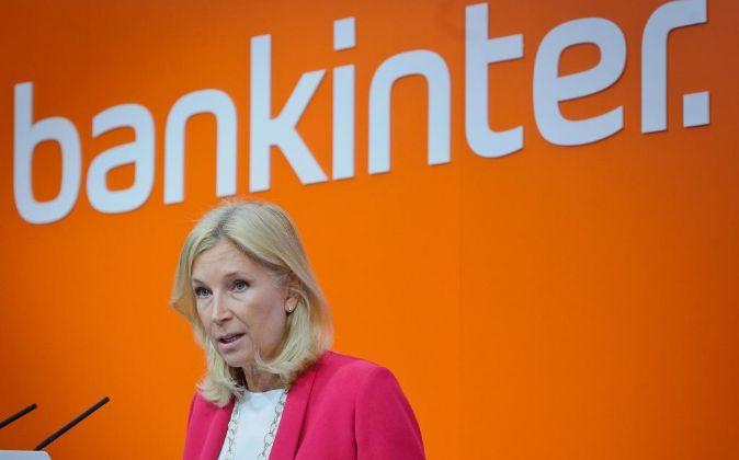 La CEO de Bankinter, María Dolores Dancausa