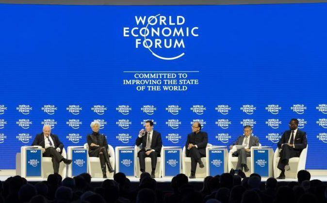 Martin Wolf, de Finantial Times, Christine Lagarde, directora del FMI,...