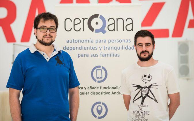 Alfonso Escriche y Carlos Vicente, creadores de CerQana