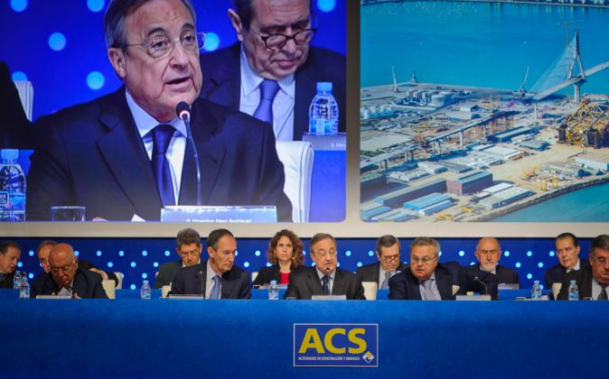 Junta General de Accionistas de ACS 2015