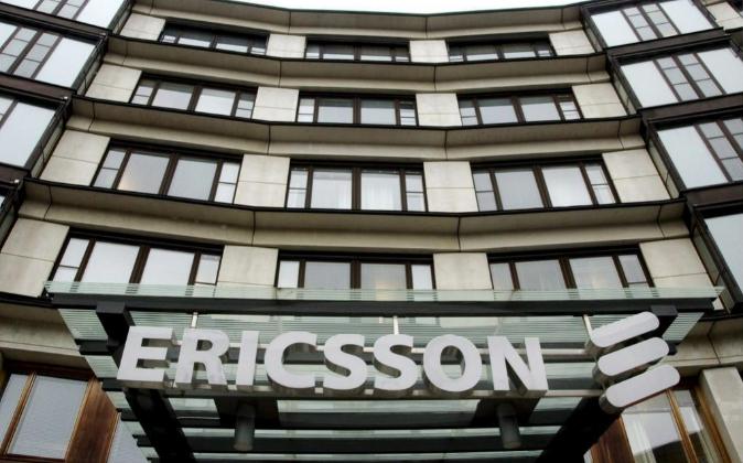 Vista de la sede del Grupo Ericsson en Estocolmo (Suecia).