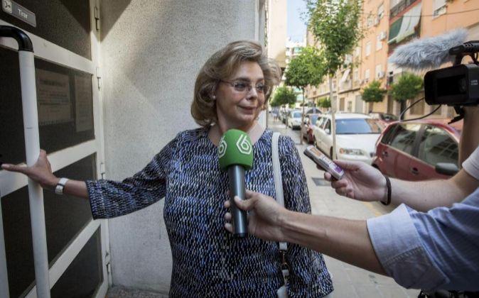 La exconcejal de Valencia María José Alcón.