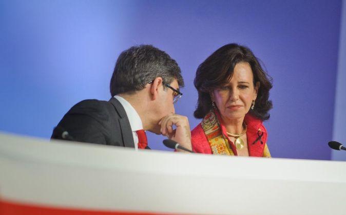 ANA PATRICIA BOTIN Y JOSE ANTONIO ALVAREZ