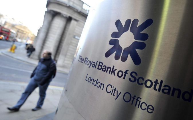 Oficina de Royal Bank of Scotland (RBS) en Londres