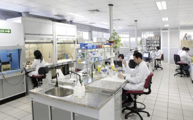 Imagen de un laboratorio en Granada.