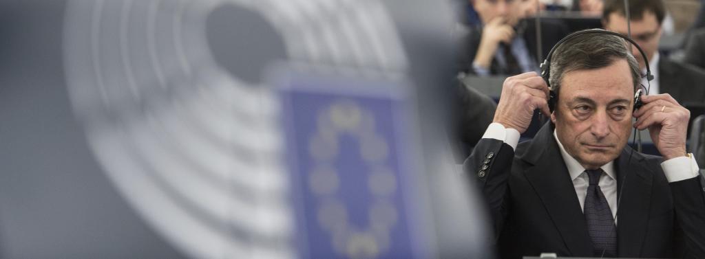El presidente del Banco Central Europeo (BCE), Mario Draghi, participa...