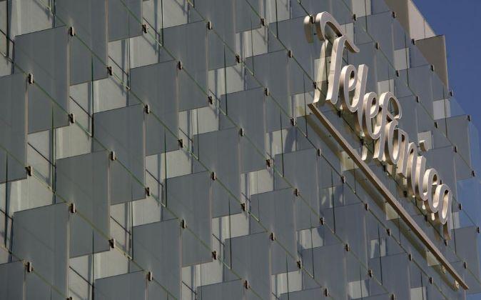 Imagen del edificio de Telefónica