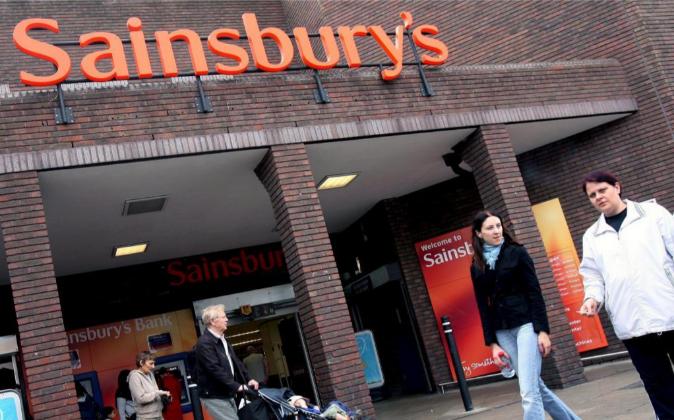 Imagen de un establecimiento de Sainsbury's en Reino Unido.