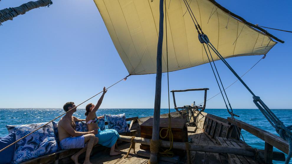 <strong>2. El océano Índico en un velero árabe.</strong> Ese reto...