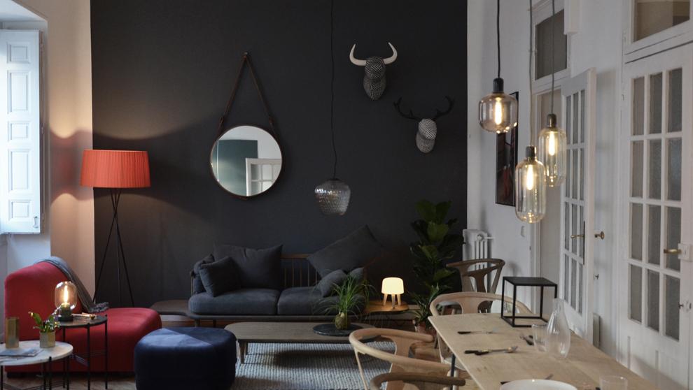 La concept store North View está ubicada en un piso de Chueca, donde...