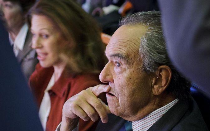 Junta de accionistas de Bankinter. En la imagen, Jaime Botín.