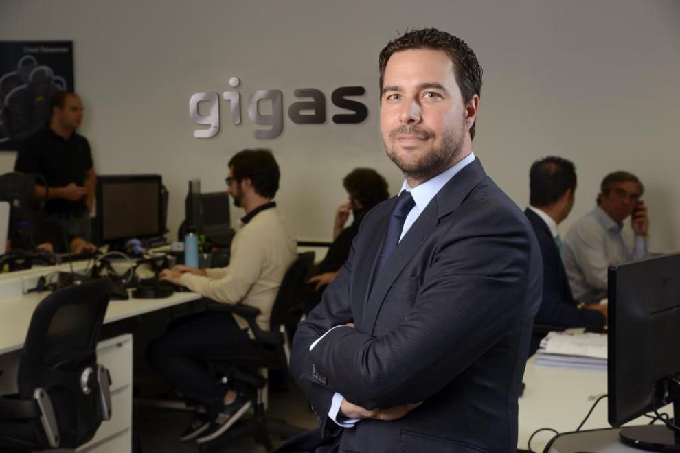 Diego Cabezudo, consejero delegado de Gigas.