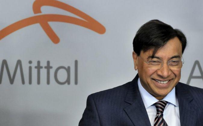 El presidente de la junta directiva de ArcelorMittal, Lakshmi Mittal.