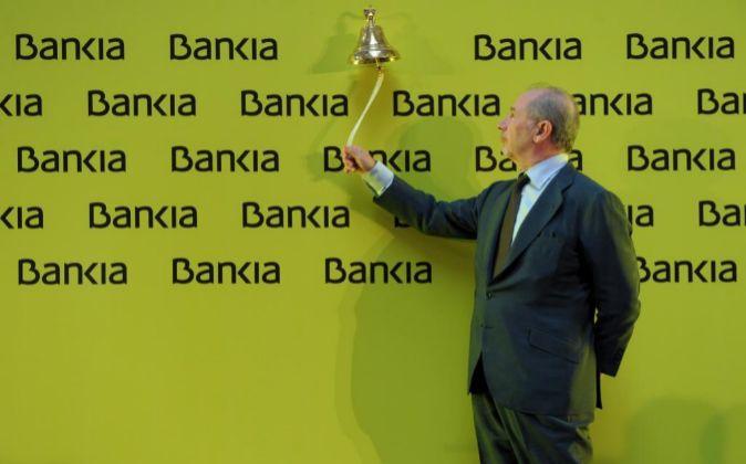 Rato en la OPV de Bankia