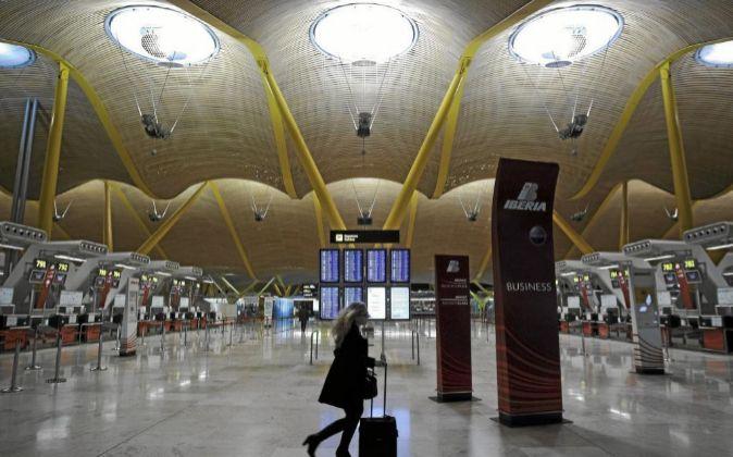 Terminal, T-4 del aeropuerto Aeropuerto Adolfo Suárez Madrid-Barajas