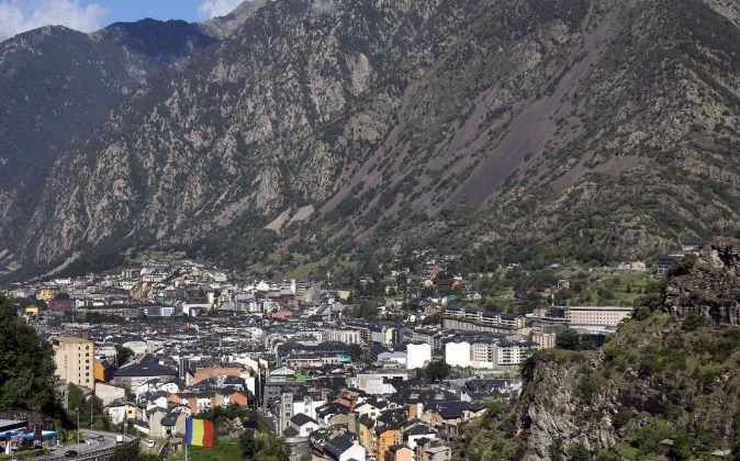 Vista general de Andorra la Vella