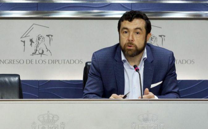El secretario general de Ciudadanos Miguel Gutiérrez.