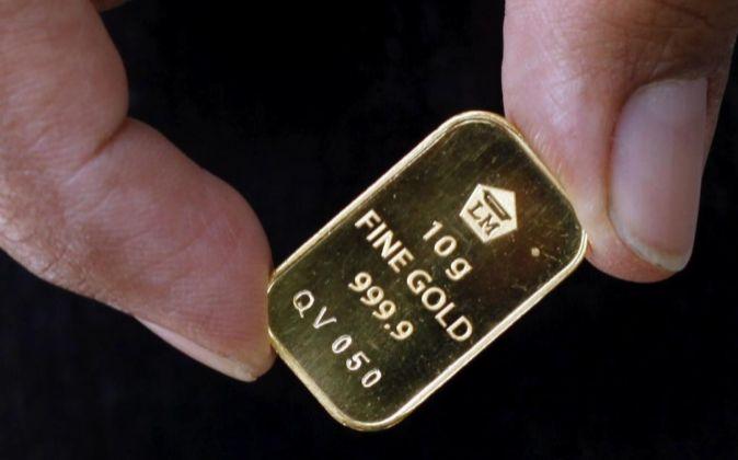 Onza de 10 gramos de oro