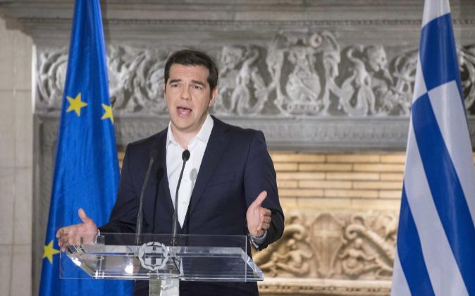 Imagen del primer ministro de Grecia, Alexis Tsipras