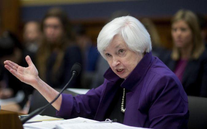 Imagen de Janet Yellen, presidenta de la Reserva Federal de EEUU