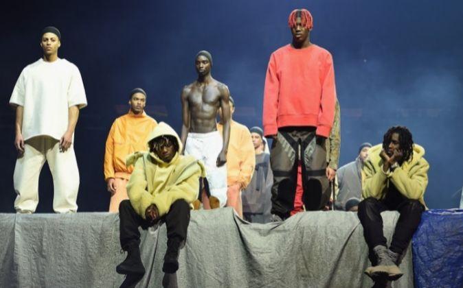 Imagen del desfile de Adidas en la reciente New York Fashion Week.