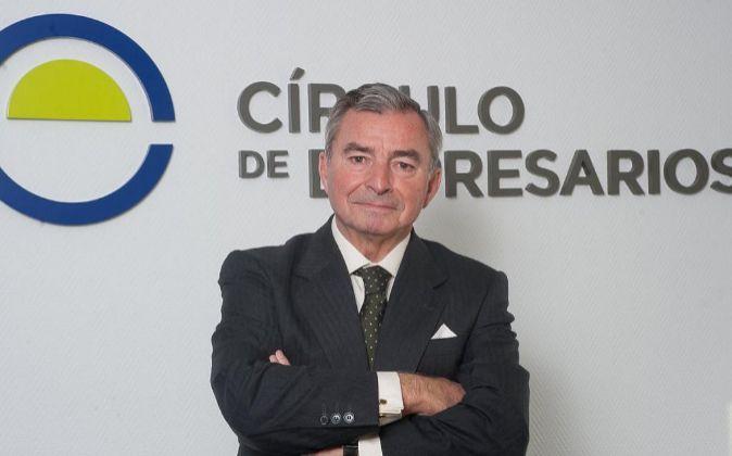 Javier Vega de Seoane, presidente del Círculo de Empresarios.