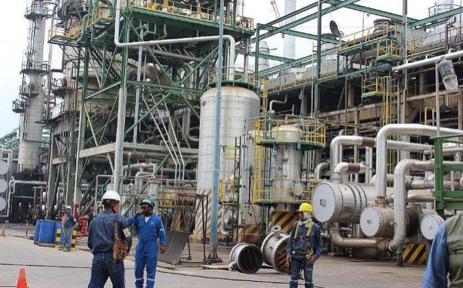 Instalaciones de Refinería Esmeraldas, donde Ditecsa realizará sus...