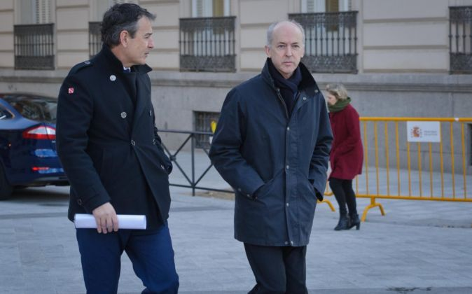 Felipe Benjumea acude a declarar a la Audiencia Nacional.