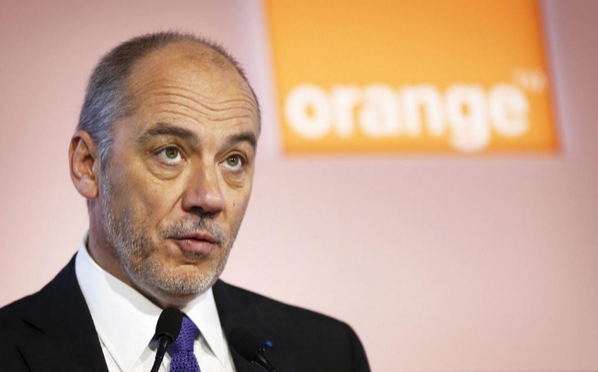 Stephane Richard, CEO de Orange.