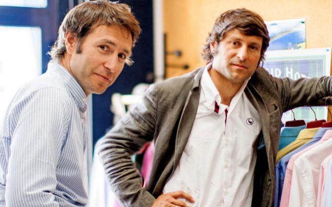 los hermanos Álvaro y Clemente Cebrián, fundadores de la marca de...