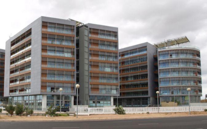 El complejo en el polígono industrial Vara de Quart de Valencia.